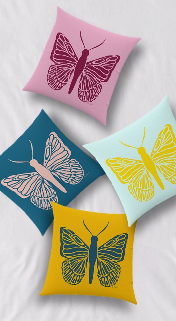 Mariposa Pillows Long