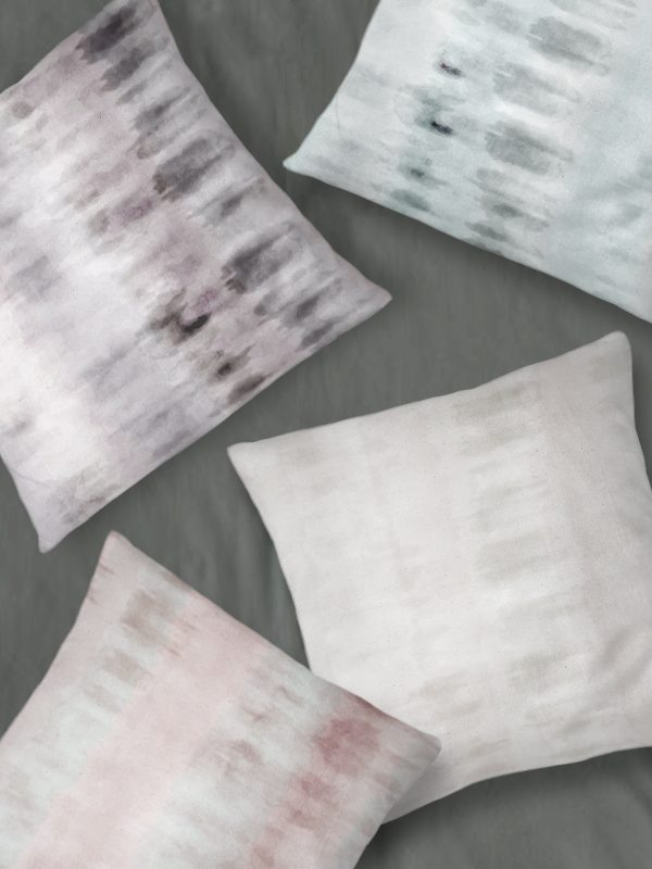 Dume Watercolor Throw Pillows