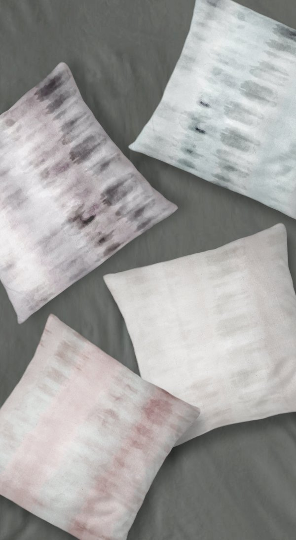 Watercolor Throw Pillows