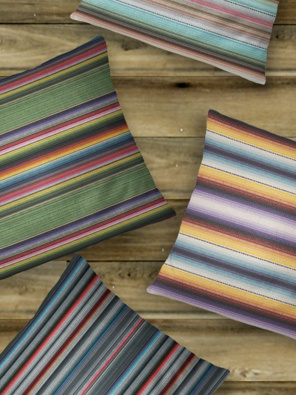 Serape Throw Pillows