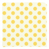 Yellow Polka dot Pillow Covers