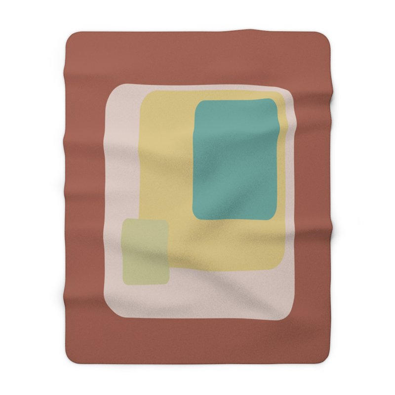 1963 Mod Fleece Sherpa Blanket