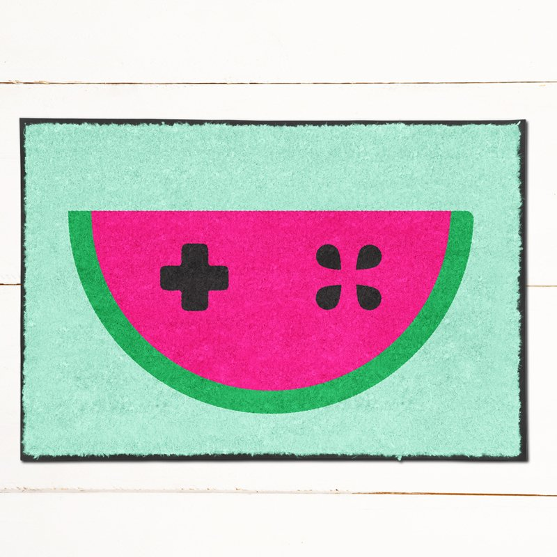 Gamer Watermelon Doormat