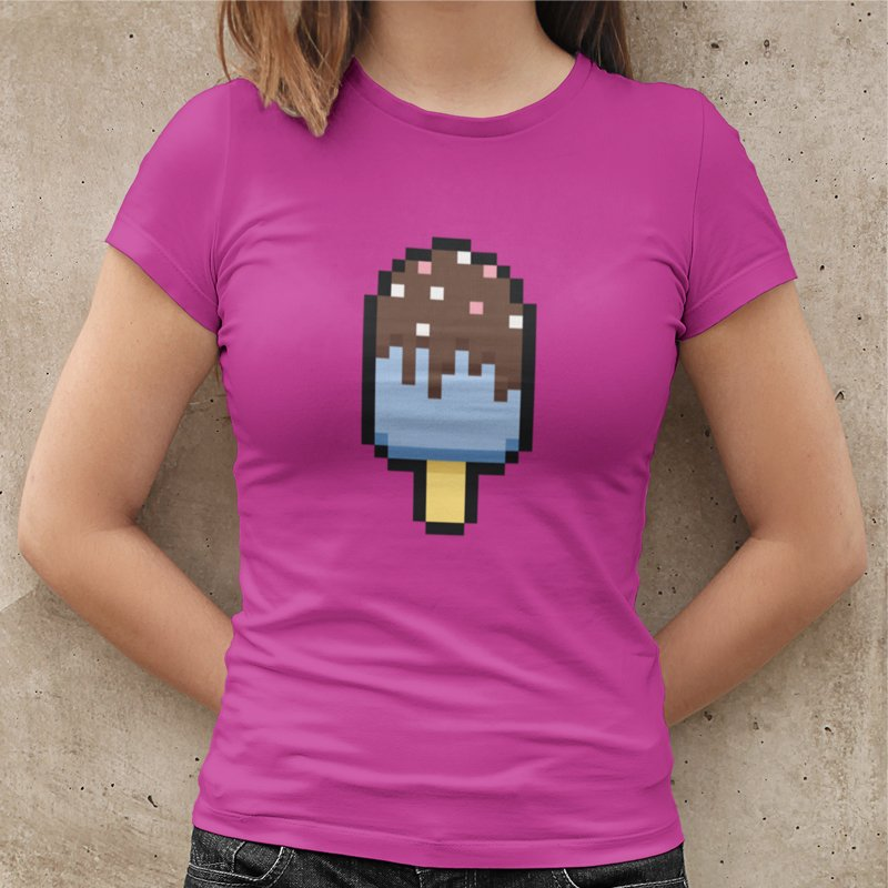 Pixel Popsicle Gamer Tee