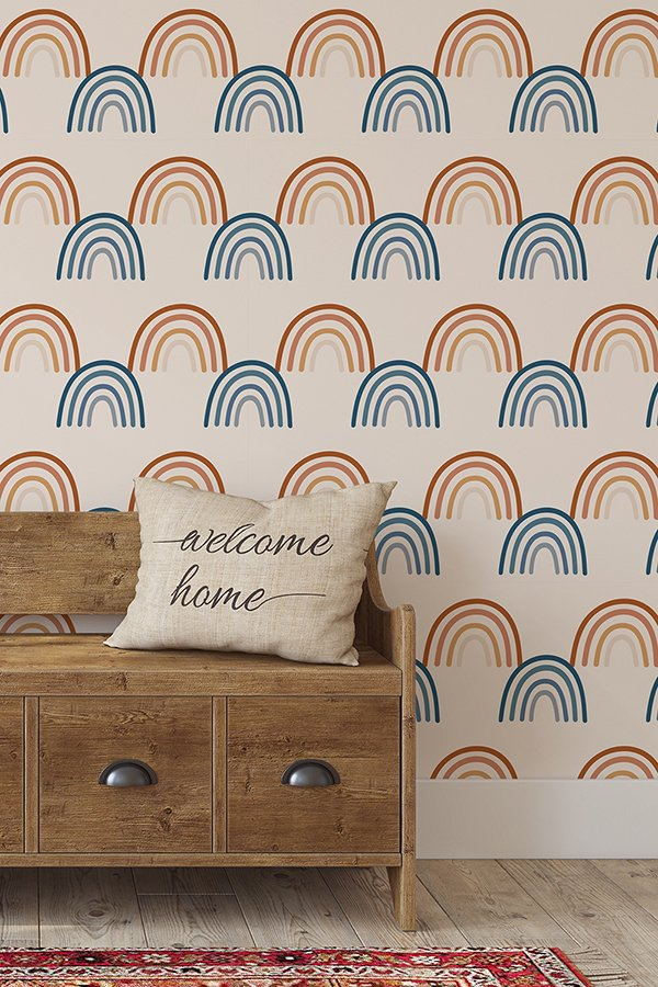 boho rainbow wallpaper new